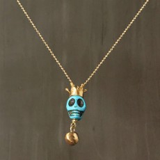 FUNKY SKULL NECKLACE