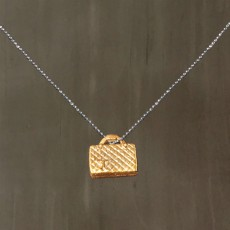 BY COCO HANDBAG PENDANT NECKLACE