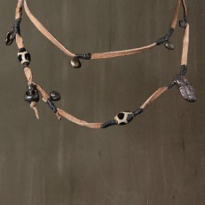 INDIAN LEATHER NECKLACE