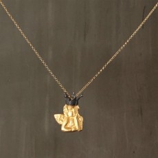 ANGEL CROWN PENDANT NECKLACE