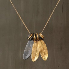 INDIAN FEATHERS NECKLACE