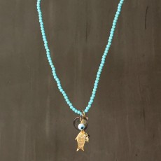 FUNKY FISH NECKLACE