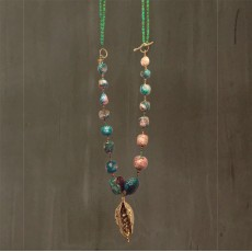 JADE AND TURQUOISE NECKLACE