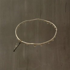 BUBBLES BANGLE SILVER